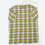 【Rags McGREGOR-ラグスマックレガー】OMBRE CHECK ZIP TEE SHIRTS【YELLOW】