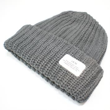 【AKM-エーケーエム】ARMY KNIT CAP【D.GRAY】