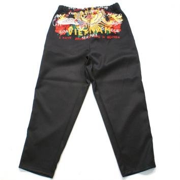 【doublet/ダブレット】CHAOS EMBROIDERY TRACK PANTS