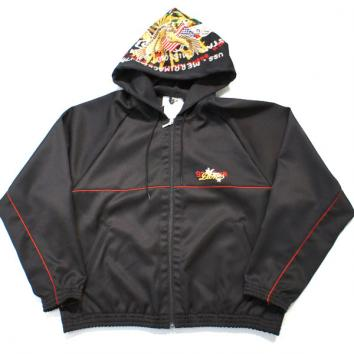 【doublet/ダブレット】CHAOS EMBROIDERY TRACK HOODIE