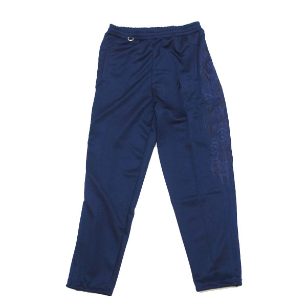 【doublet/ダブレット】CHAOS EMBROIDERY  TRACK PANTS【NAVY】
