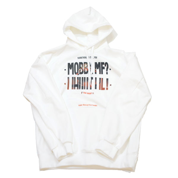 【doublet/ダブレット】HIDDEN MESSAGE EMBROIDERY HOODIE【WHT】