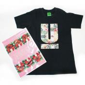 【UNDERCOVER-アンダーカバー】KIDS TEE Botanical U【BLACK】