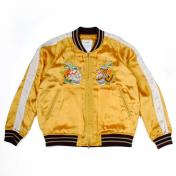 【doublet/ダブレット】CHAOS EMBROIDERY SOUVENIR JACKET【YELLOW】