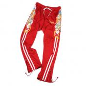 【doublet/ダブレット】CHAOS EMBROIDERY TRACK PANT【RED】