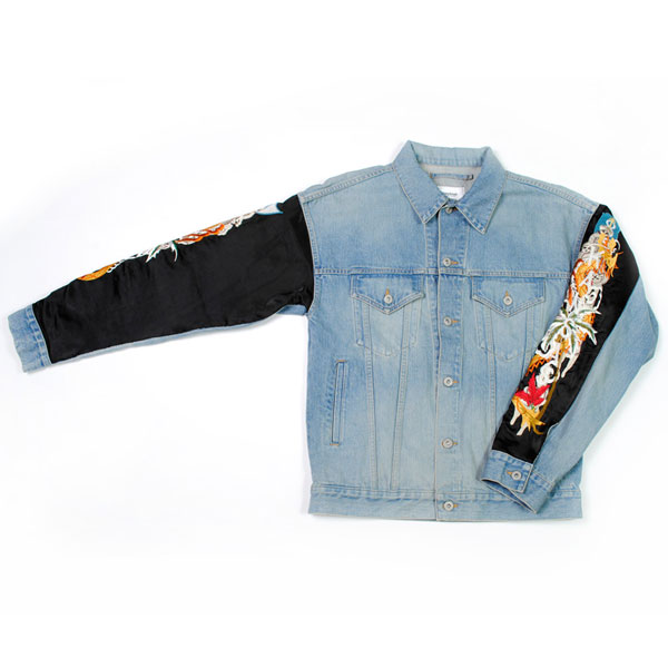 【doublet/ダブレット】CUSTOMIZED DENIM BLOUSON【L.BLUE】