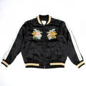 【doublet/ダブレット】CHAOS EMBROIDERY SOUVENIR JACKET【BLACK】