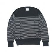 【TheSoloist-ソロイスト】border stripes l/s sweater