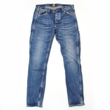 【HUMAN MADE-ヒューマンメイド】SKINNY DENIM PANTS【INDIGO】