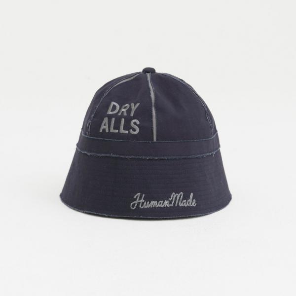 【HUMAN MADE-ヒューマンメイド】TWILL BUCKET HAT【NAVY】