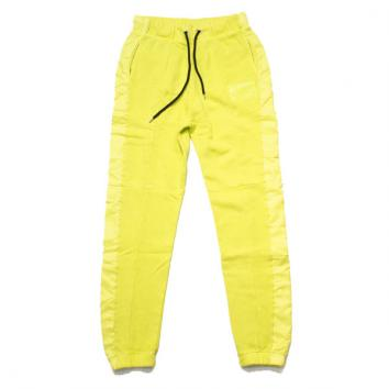 【FULL-BK/フルビーケー】PIGMENT CLEAR SILICON SWEAT PANTS【L.Yellow】