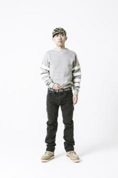 【HUMAN MADE-ヒューマンメイド】SLIM BLACK DENIM