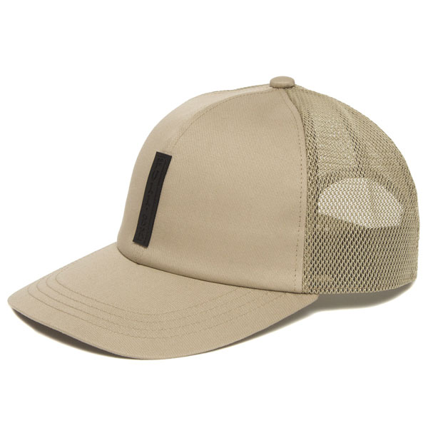 【FULL-BK/フルビーケー】SILICON TAG MESH CAP【IVORY】