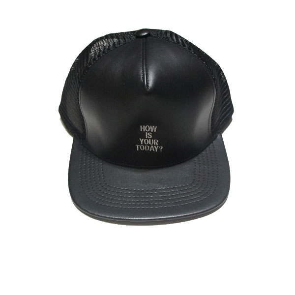 【TODAY edition/トゥデイエディション】How Is Your Today ? Mesh Cap【BLK】
