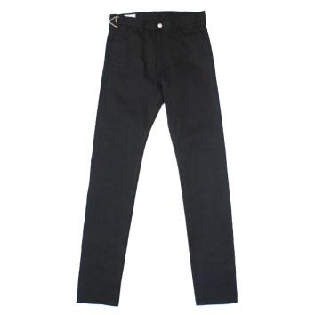 【Rags McGREGOR-ラグスマックレガー】NEW HIGH WEST 5P DENIM SLIM PANTS【BLK】
