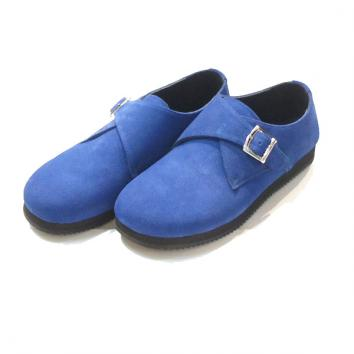【UNUSED - アンユーズド】Leather sandals x SUICOKE【R,BLUE】