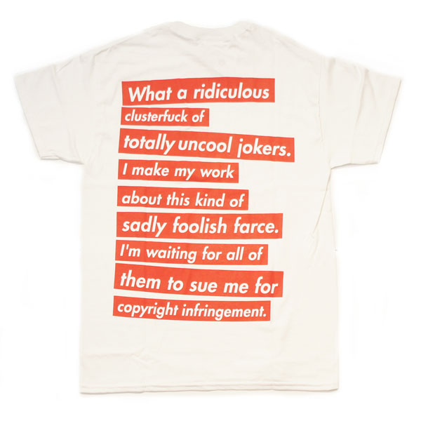 【SLANTED】UNCOOL JOKERS Tシャツ【WHITE】