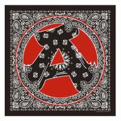 "【The Wolf In Sheep's Clothing】""A"" Bandana【BLACK】"