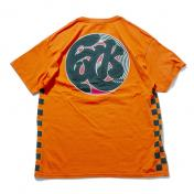 "【The Wolf In Sheep's Clothing】""fuck"" SS Tee【ORANGE】"