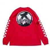 "【The Wolf In Sheep's Clothing】""ANARCHY IN THE E.P""LS Tee【RED】"