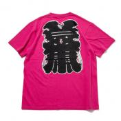 "【The Wolf In Sheep's Clothing】""NEW YORK""SS Tee【PINK】"