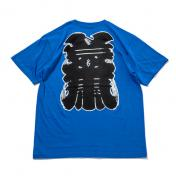 "【The Wolf In Sheep's Clothing】""NEW YORK""SS Tee【BLUE】"