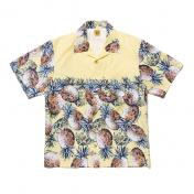 【HUMAN MADE-ヒューマンメイド】PINEAPPLE ALOHA SHIRT【YELLOW】