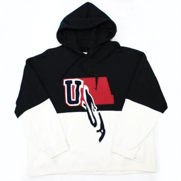 【doublet/ダブレット】DROP PATCH EMBROIDERY HOODIE【BLK/WHT】