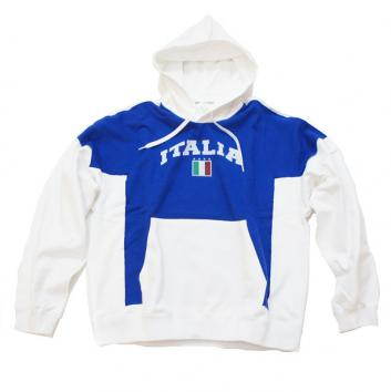 【doublet/ダブレット】HOODIE WITH KID'S SIZE T-SHIRT【WHT/BLUE】