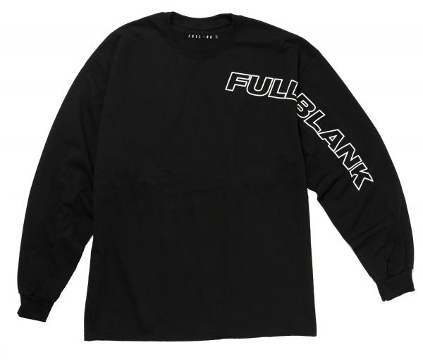【FULL-BK/フルビーケー】ABOUT THE MUSIC L/S TEE【BLACK】