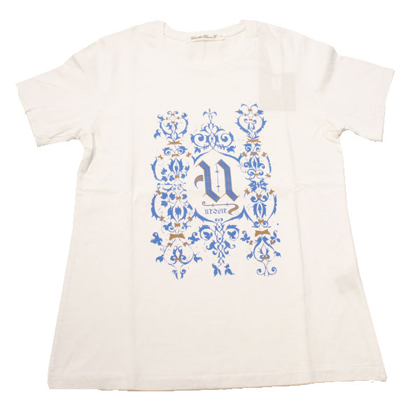 【UNDERCOVER-アンダーカバー】(Lady's)TEE ORNAMENT【WHITE】
