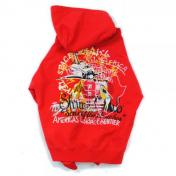 【doublet/ダブレット】CHAOS EMBROIDERY HOODIE【c/# RED】
