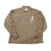 "【doublet/ダブレット】""SURPRISE""EMBROIDERY SHIRT【BEIGE】"