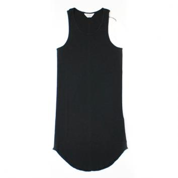 【UNUSED - アンユーズド】LONG LENGTH TANK TOP【BLK】