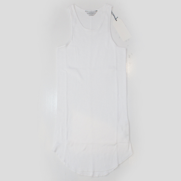 【UNUSED - アンユーズド】LONG LENGTH TANK TOP【WHT】