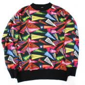 【HUMAN MADE-ヒューマンメイド】PENNANT SWEAT SHIRT【BLK】
