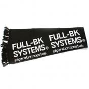 【FULL-BK/フルビーケー】BIG HOOLIGANS MUFFLER【BLACK】