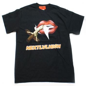 【EV BRAVADO/エブ ブラバド】NEXT LEVEL HIGH LIPS TEE【BLACK】