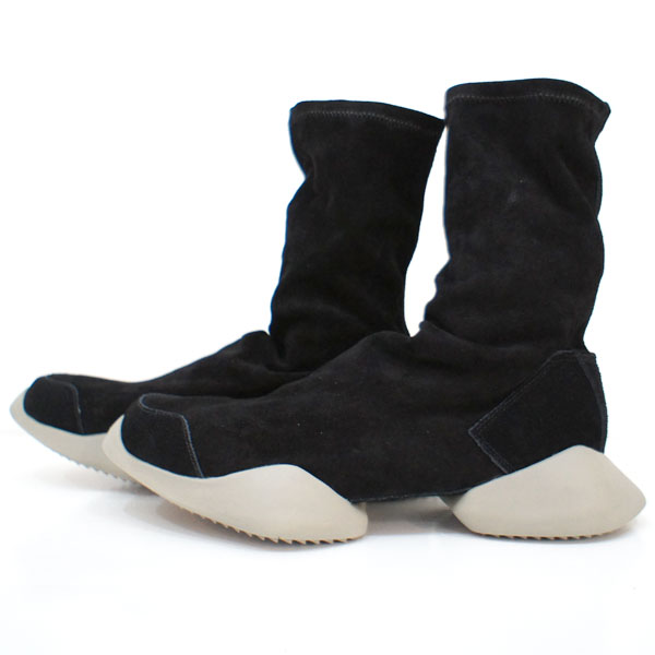 【rickowens×adidas-リックオウエンス×アディダス】Rick Owens Runner Ankle Stretch Boot【Lady's】