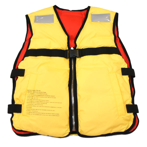 "【doublet/ダブレット】""LIFE JACKET""DOWN VEST【YELLOW】"