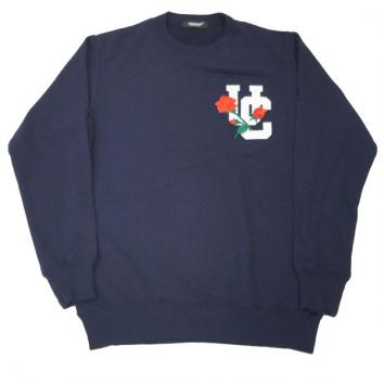 【UNDERCOVER-アンダーカバー】【Lady's】SWEAT UCROSE em【NAVY】