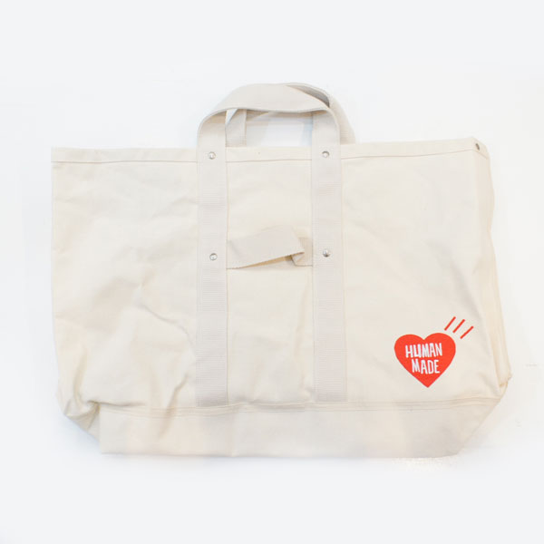 【HUMAN MADE-ヒューマンメイド】BIG HEART TOTE BAG