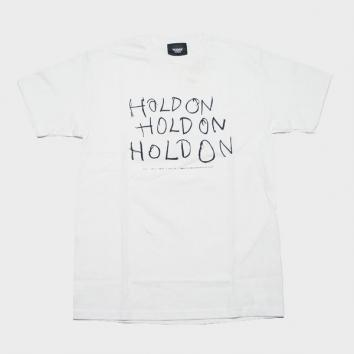 【TODAY edition/トゥデイエディション】SS TEE【HOLD ON】【WHT】