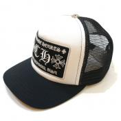 【CHROME HEARTS-クロムハーツ】Trucker Cap CH HOLLYWOOD【WHT】