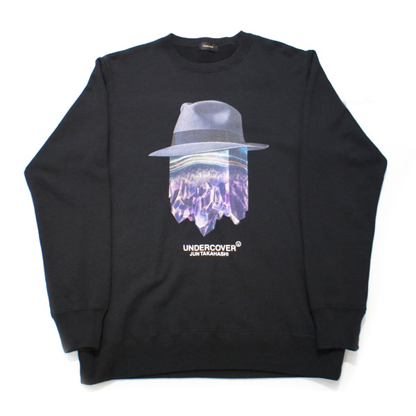 【UNDERCOVER-アンダーカバー】SWEAT crystal【BLACK】