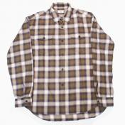 【Rags McGREGOR-ラグスマックレガー】OMBRE CHECK BLEACH SHIRTS【BRW】