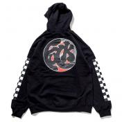"【The Wolf In Sheep's Clothing】""fuck""8oz Pullover Hoodie【BLACK】"