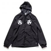 "【The Wolf In Sheep's Clothing】""A"" Hooded Coach  Jacket【BLACK】"