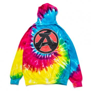 "【The Wolf In Sheep's Clothing】""A"" 8oz Pullover Hoodie【RAINBOW】"