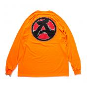 "【The Wolf In Sheep's Clothing】""A"" LS Tee【ORANGE】"